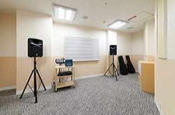 管楽器、弦楽器、ギターレッスン室