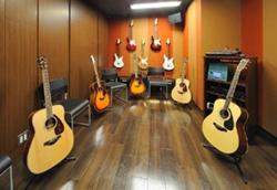 レッスン室(ギター)
