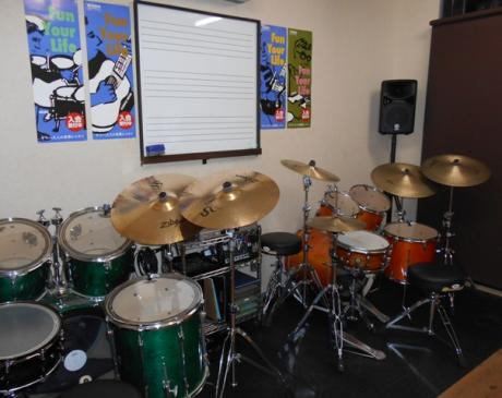 1Fレッスン室 【ドラム専用】