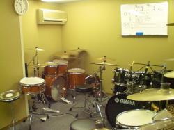 レッスン室(ドラム)